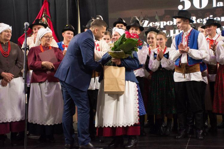 Obchody 50-lecia Zespołu regionalnego Lipniczanie
