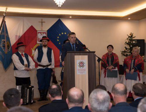 Spotkanie świąteczno – noworoczne ze strażakami <br> oraz przedstawicielami miasta i gminy Grybów