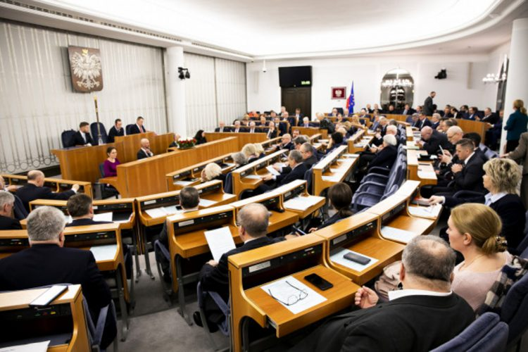 Piąte posiedzenie Senatu RP