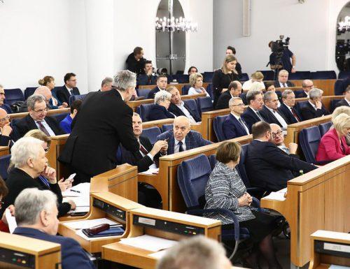 Szóste posiedzenie Senatu RP