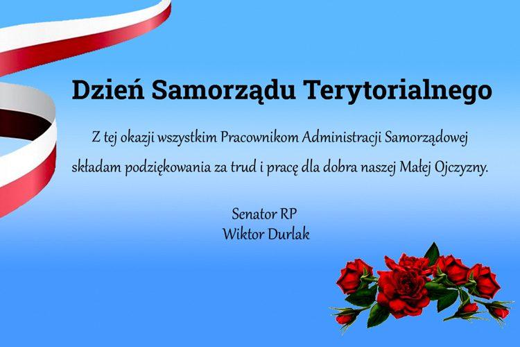 27 maj Dzień Samorządu Terytorialnego