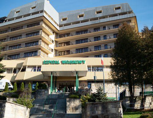 Tymczasowy szpital dla chorych na COVID-19 w Krynicy-Zdrój