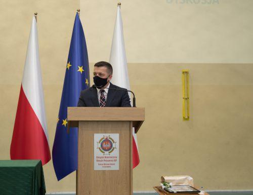 Zjazd Oddziału Miejsko-Gminnego Związku OSP w Grybowie