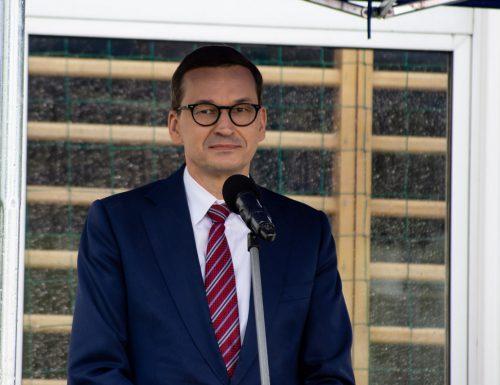 Premier Morawiecki odwiedził Ciężkowice i Zakliczyn