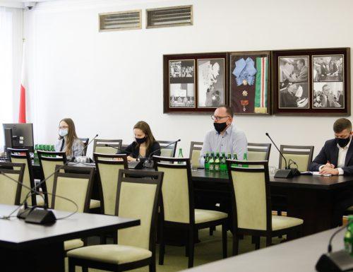 Prace w komisjach senackch